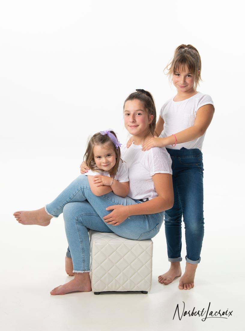 Famille; Isère; Lyon; Photo; Photographe; Portrait; Studio; Vienne; Enfants; Parents