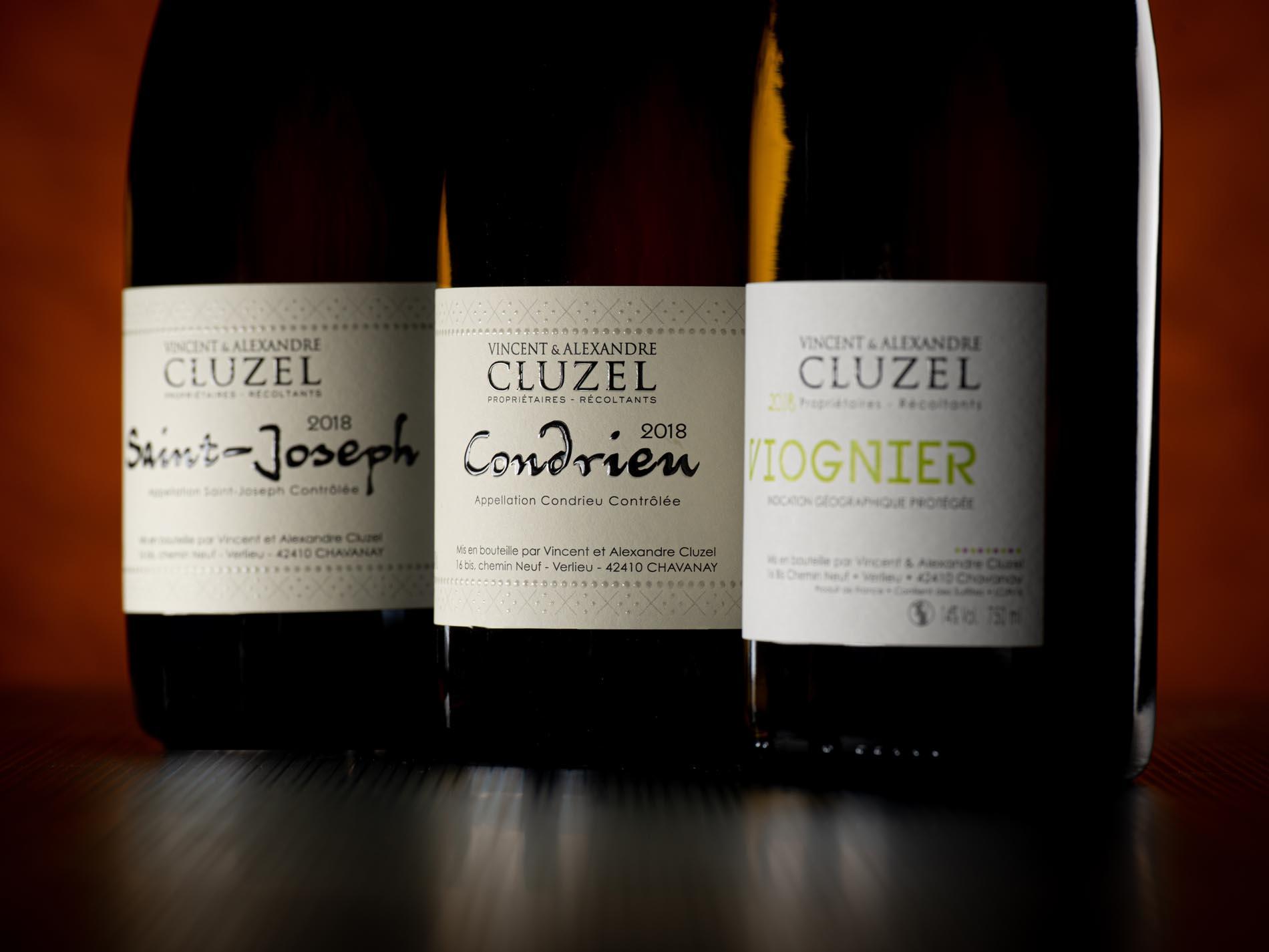 Photo bouteille au studio domaine vinicole Chavanay Loire